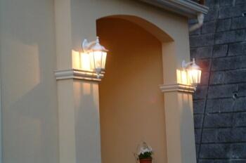 屋外照明の施工例
