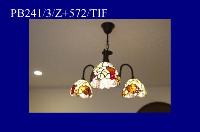 コンコルディア照明のシャンデリアの人気商品|PB241/3/Z+572/TIF
