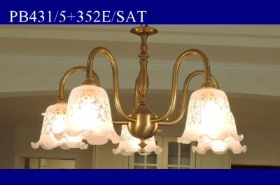 コンコルディア照明のシャンデリアの人気商品|PB431/5+352E/SAT