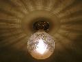 アンティーク調の天井灯106E/COG-PB393