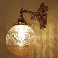 アンティーク調の壁照明WB251+106E/COG