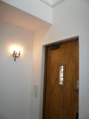 玄関のブラケットライト-キャンドルタイプの2灯-wb30012r