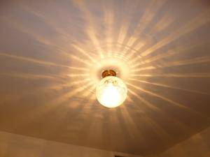 天井灯108esat+pb394は光の模様が美しい