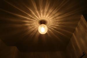 人気の天井照明106ecog-pb393を玄関の照明として