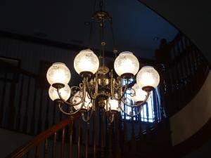 階段 吹き抜け 照明 chandelier-kaidan-pb1166-8-21.JPG