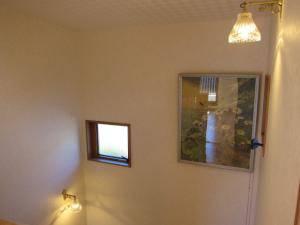 階段の照明としてブラケットライト2台を使った施工例写真