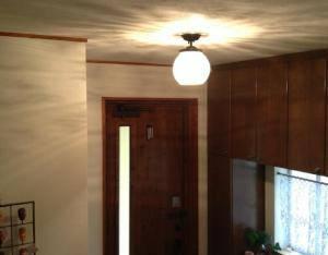 PB394/Z+355E/COG 天井灯 を使った玄関照明の実例