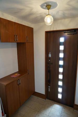 玄関ホールの照明として使われた天井灯106/CUT-PB393/H