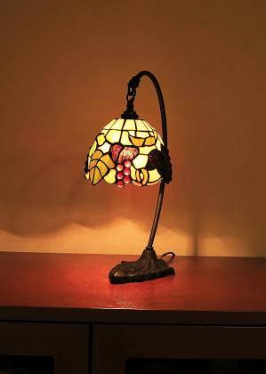 ダイニングの照明:ティファニーランプのテーブルランプ572/TIF-TB118/Z