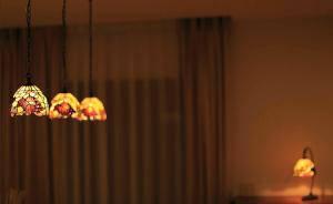 アンティークな雰囲気のペンダントライト572/TIF-ZHJ7のダイニング照明
