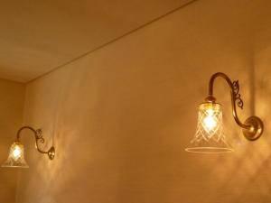 ダイニングの壁照明-wb441+421cut