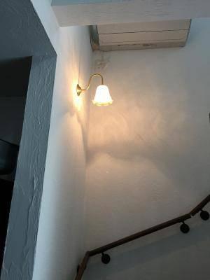 階段の壁照明wb241+352ecogの施工例