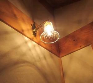 西洋アンティーク調の壁照明-WB251+421/CUT なのに、「和」の雰囲気にも違和感なく合います