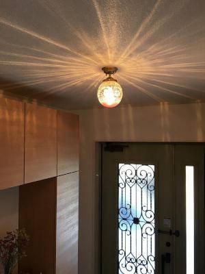 玄関ホールの照明-天井灯としてのpb393+106ered-01