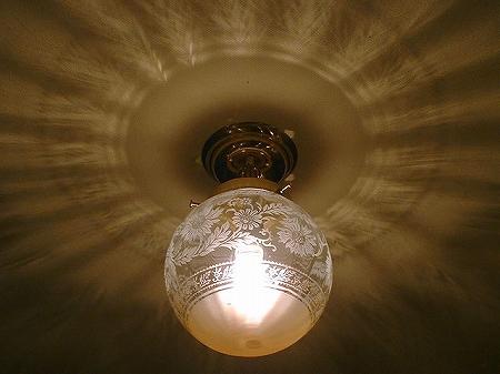 PB393を使った、組合せ式の天井灯