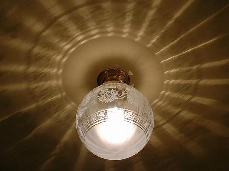 PB394を使った、組合せ式の天井灯