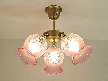 PB615H/3を使った、組合せ式の天井灯